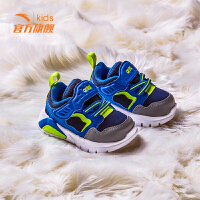 安踏童鞋0-3岁2019春季新款儿童机能鞋灯鞋男童女童鞋宝宝运动鞋
