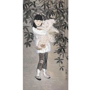 宋彦军(工笔人物)中国美术家协会会员、中国工笔画协会理事