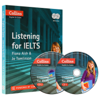 柯林斯雅思听力 英文原版 Listening for IELTS 雅思考试工具书 正版进口书籍 全英文版