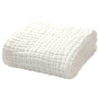 婴儿浴巾纯棉超柔新生儿宝宝初生儿童洗澡大毛巾全棉6层纱布被子