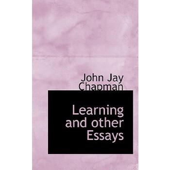 【预订】Learning and Other Essays 预订商品,需要1-3个月发货,非质量问题不接受退换货。