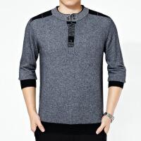 秋装新款男式毛衣羊绒衫男士立领休闲纯色毛衣男士毛衫