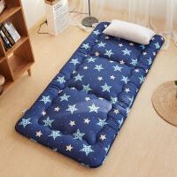 榻榻米床垫加厚地铺睡垫折叠防潮床褥子1.5双人0.9m学生宿舍单人
