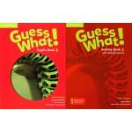 剑桥少儿英语教材 Guess What! Level 1 学生用书+练习册 英音版