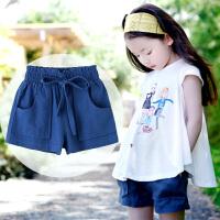 女童短裤夏季薄款运动休闲外穿儿童中大童纯棉女孩宽松热裤子