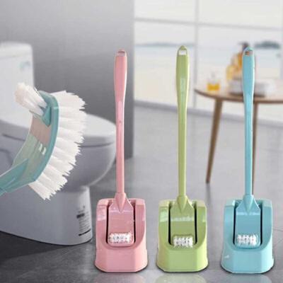 马桶刷套装 坐便器清洁刷长柄洗厕所刷子卫生间长柄马桶刷洁厕刷 尺寸:长47*款5*高8cm