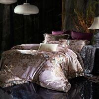 家纺法式床上用品全棉四件套纯棉被套双人床别墅样板间 床单四件套