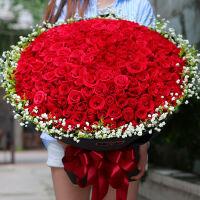 520情人节99朵红玫瑰鲜花速递北京杭州上海广州成都合肥西安南京深圳同城送