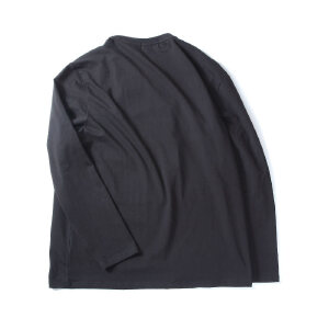 【限时抢购到手价:79元】AMAPO潮牌大码男装 潮款胖子加肥加大宽松圆领弹力印花长袖休闲T恤男