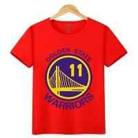 20180402220205308 男童夏装短袖t恤 运动篮球服中大童儿童詹姆斯库里科比纯棉体恤