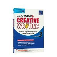 【首页抢券300-100】SAP Learning Creative Writing 3 三年级创意写作专项练习册 学习