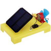 儿童物理智力开发手工DIY材料包科学制作太阳能电扇6-10岁
