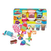 培乐多 彩泥工具套装冰激凌甜点橡皮泥 无毒彩泥儿童节礼物玩具