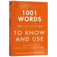 1001个你需要知道和使用的单词 英文原版 1001 Words You Need To Know and Use 英英