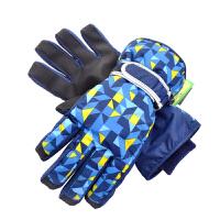 雪乡玩雪防水防冻暖手暖心儿童大童滑雪手套6到14岁合适SN2093