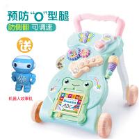 宝宝学步车手推车6-7-18个月婴儿多功能可调速防侧翻助步车音乐玩具