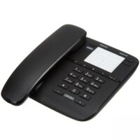 集怡嘉(Gigaset)原西门子品牌6005HF办公座机家用电话机 黑色/白色
