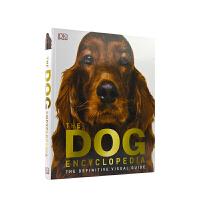 【首页抢券300-100】The Dog Encyclopedia DK 百科全书 狗狗图解 图文并茂 全彩插图 精装大