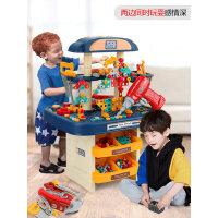 儿童工具箱玩具套装过家家电钻宝宝维修理台拧螺丝益智多功能男孩