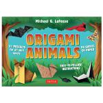 【预订】Origami Animals Kit,折纸动物工具包 英文原版手工制作图书