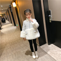 女童拜年服儿童冬季古装中国风保暖中大童过年服唐装