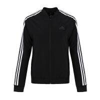 Adidas/阿迪达斯女装 2018新款女子JKT WV BRAND运动休闲夹克外套 DM5342