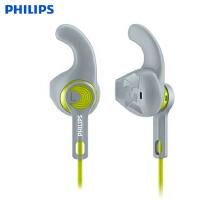 【包邮】飞利浦 SHQ1300 专业运动耳机 通用半入耳式耳机耳塞 防水防汗 运动式耳塞 手机跑步耳机 运动耳机 跑步