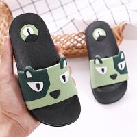 儿童拖鞋夏季男童室内防滑女宝宝一家三口亲子卡通小孩专用凉拖鞋