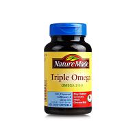 【网易考拉】【调节血压】Nature Made 天维美 三倍欧米茄胶囊 60粒/瓶
