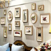 照片墙相框墙美式客厅组合挂墙相框相片墙餐厅创意情侣结婚礼物卧室装饰