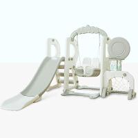儿童室内滑梯多功能家用宝宝滑滑梯组合幼儿园秋千健身大型玩具