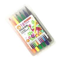 软头水彩笔 手绘彩色笔 12色24色36色48色画画笔 儿童绘画套装幼儿园学生美术用品涂鸦涂色笔