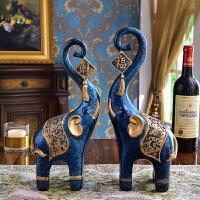 创意家居摆件客厅背景酒柜电视柜茶几装饰品原创动物几何摆件