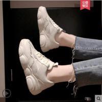 厚底运动鞋女ins潮网红同款新款韩版百搭学生厚底老爹鞋子