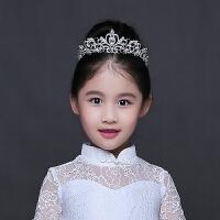 �和��^�女童皇冠�l�公主�l箍演出小女孩生日水�@女�����Y服配� 白色