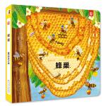 动物王国创意形状书—蜂巢