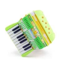 儿童仿真手风琴玩具17键电子琴乐器钢琴宝宝早教益智启蒙演出道具