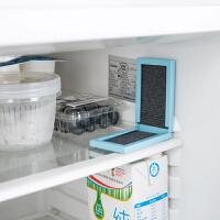 日本冰箱活性炭除臭纸家用除臭剂冰柜去味剂厨房去异味除味剂