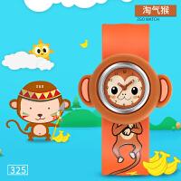 啪啪圈拍拍表儿童卡通手表幼儿男孩女孩3-4岁婴幼儿手表可爱
