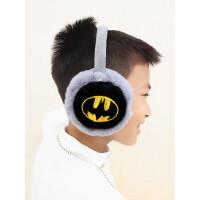 冬季保暖耳罩儿童男童学生可爱卡通蜘蛛侠毛绒耳套耳暖耳包耳捂子