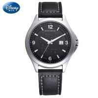 迪士尼手表男表时尚简约石英表潮流韩版新款学生手表皮带男士手表