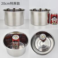 不锈钢味盅调料罐调料缸调味打蛋盅炖盅带盖子味盒油盆带盖盆圆形