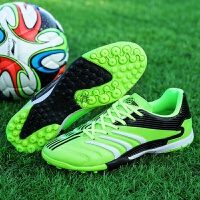 儿童足球鞋男碎钉小学生训练鞋球鞋tf女透气鞋人造草地青少年
