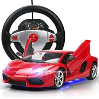 遥控跑车赛车汽车儿童玩具车充电漂移大号兰博基尼遥控车可开门