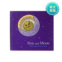 Sun and Moon 日与月 英文原版艺术绘本