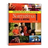 培生原版进口欧美主流英文教材托福雅思出国综合英语课程 North Star 北极星 读写学生用书第1级 国际版新版 高中大学成人