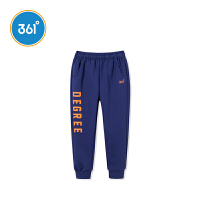 【2件3.5折价:76.65】361度男童装男童针织加厚长裤2018冬季新品 N51842566