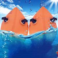 儿童游泳装备小孩手臂圈游泳水袖双气囊加厚宝宝游泳圈浮力圈 S(0-2岁 一对)