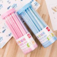 得力儿童铅笔小学生文具30支彩色铅笔批发2比铅笔书写套装hb铅笔