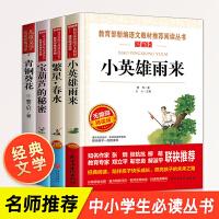 草房子+长袜子皮皮+时代广场的蟋蟀(全三册)三四五年级课外阅读书籍 中国儿童文学故事